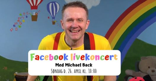 Facebook koncert med Michael Back